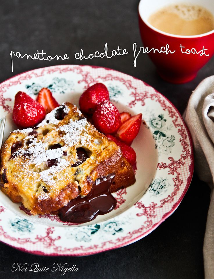 Panettone French Toast - filled with chocolate!!. A good cinnamon ...