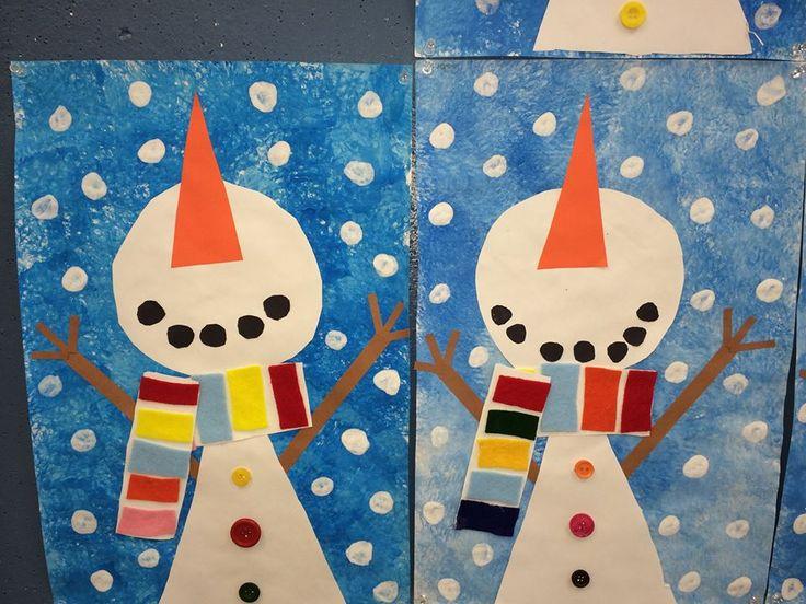 Bonhomme de neige school kids winter pinterest - Pinterest bonhomme de neige ...