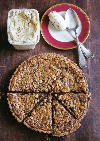 Toasted Nut Tart | Recipe