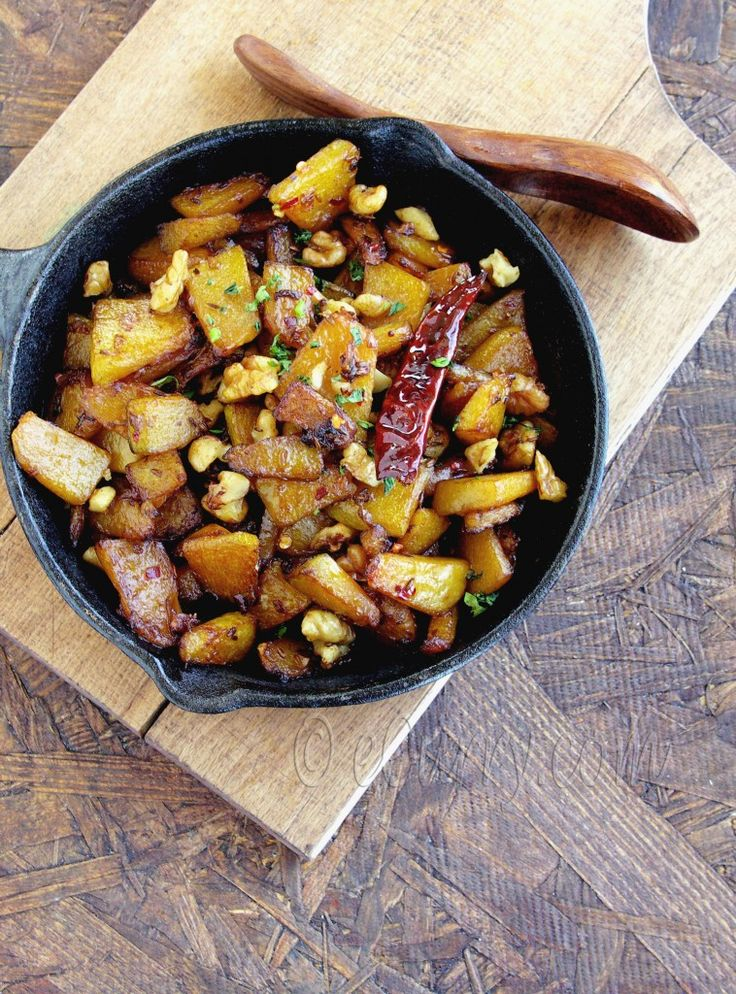 Balsamic Glazed Pumpkin with Walnuts | Winter Squash | Pinterest