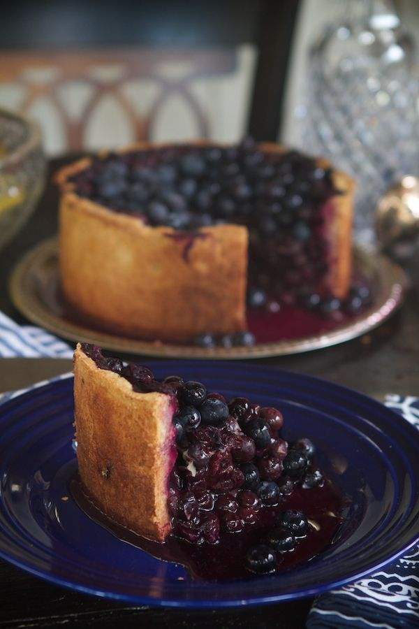 Blueberry Tall Pie Slice