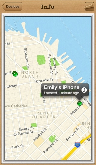 locate my iphone app how to use