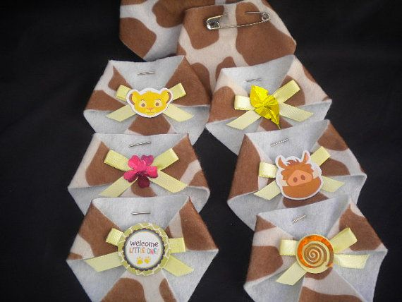 dirty diaper game baby shower lion king baby theme on etsy