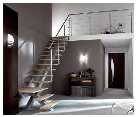 Escalier quart tournant grenier pinterest - Escalier trois quart tournant ...