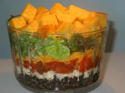 tex-mex-salad | Gluten free is the way to be! | Pinterest