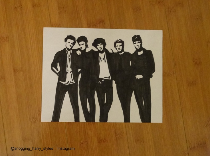 One Direction Drawings | One Direction Pop Art by ...