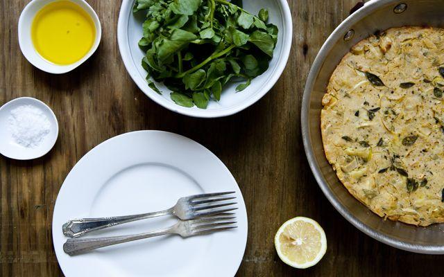 Easy GF CF Socca Pizza Bread Recipe — Dishmaps
