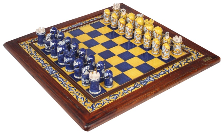 the most beautiful chess set i have seen italian