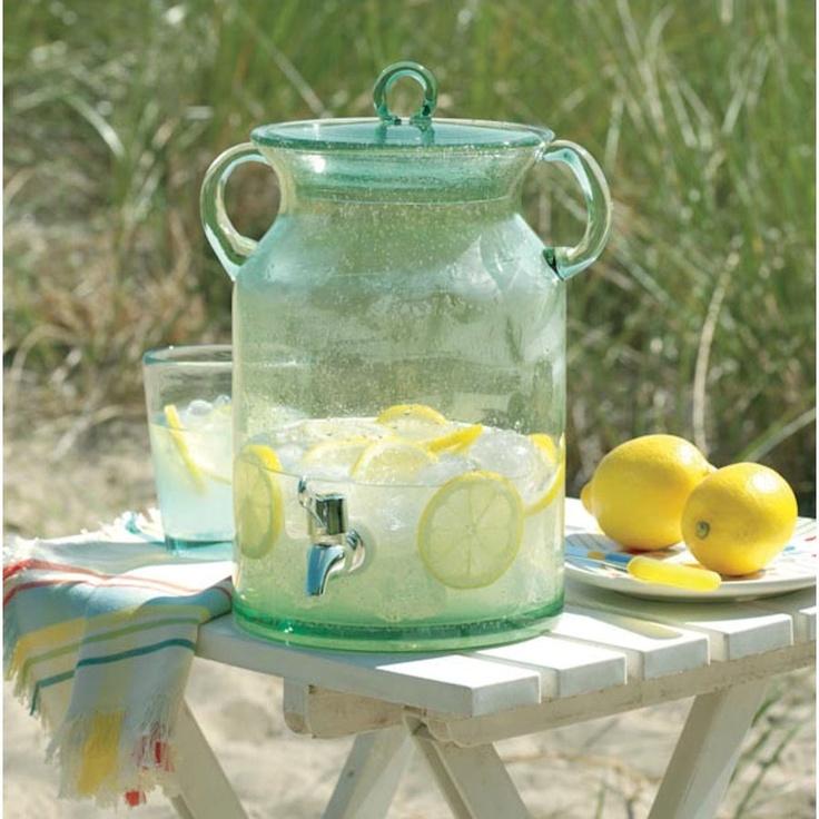 vintage lemonade dispenser