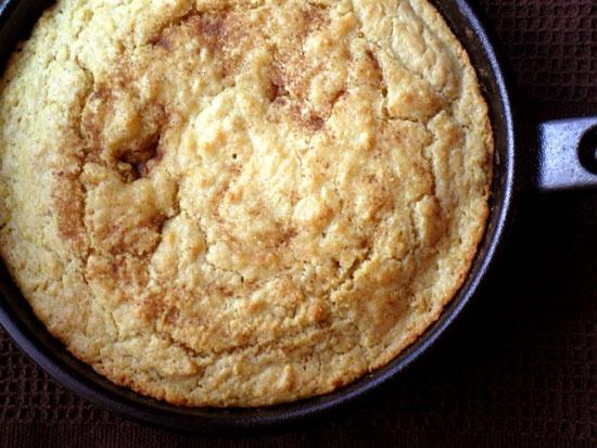 Brown Butter Skillet Cornbread | Edibles | Pinterest