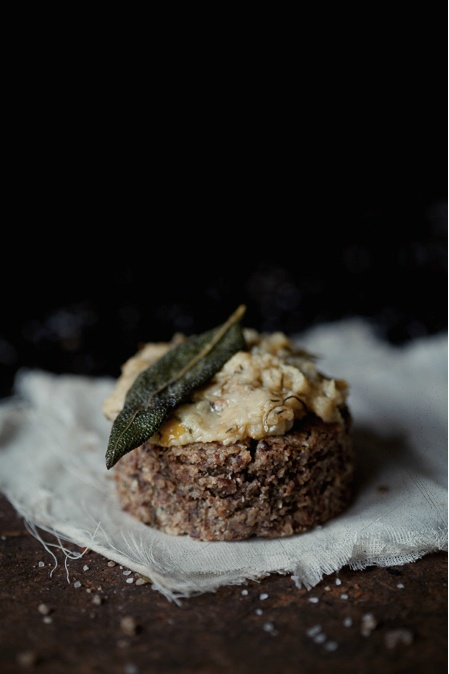 Savory Pecan Biscuits With Garlic-Herb Confit and Crispy Sage. Source ...