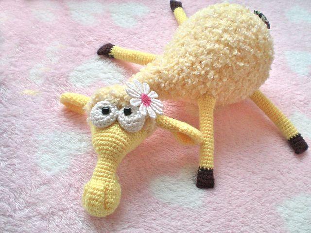 sheep, Free pattern CROCHET Toys Amigurumi Pinterest