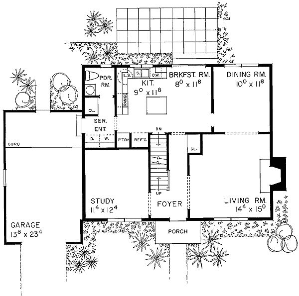 Updated cape for Classic cape cod house plans