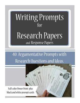 argumentative essay writing prompts