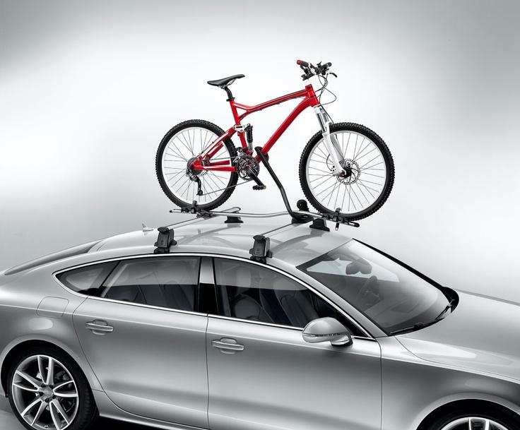 Bagażnik na rower z aluminiową konstrukcją i uchwytem na ramę