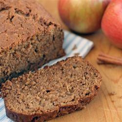 Apple Breakfast Bread Allrecipes.com (use 1/2 cup greek yogurt + 1/4 ...