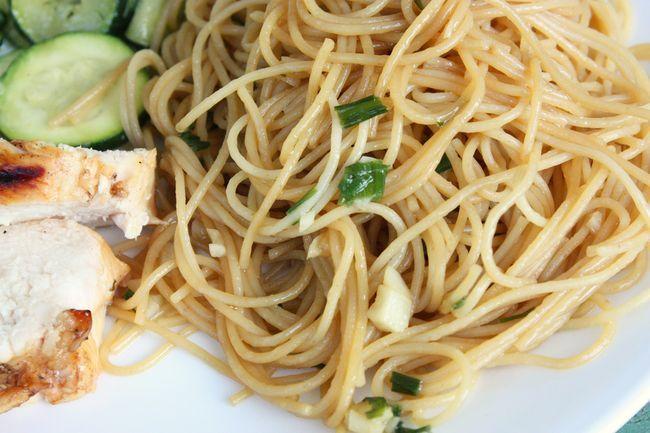 Garlic Noodles - Fast, tasty side | Recipes I Have Tried | Pinterest