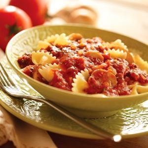 Quick Tomato and Mushroom Pasta Sauce   Pasta/Spaghetti   Pinterest