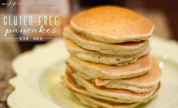 gluten-free-pancakes | Make your own...food | Pinterest