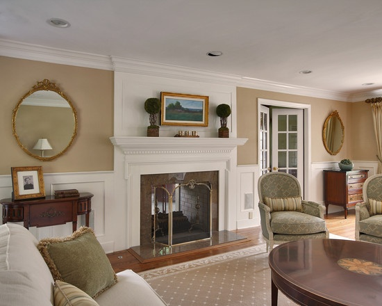 Powell Buff Wall Color Design : Benjamin moore powell buff master bedroom