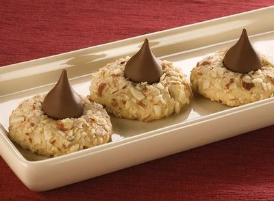 Butter-Nut Chocolate Topped Cookies | Recipe