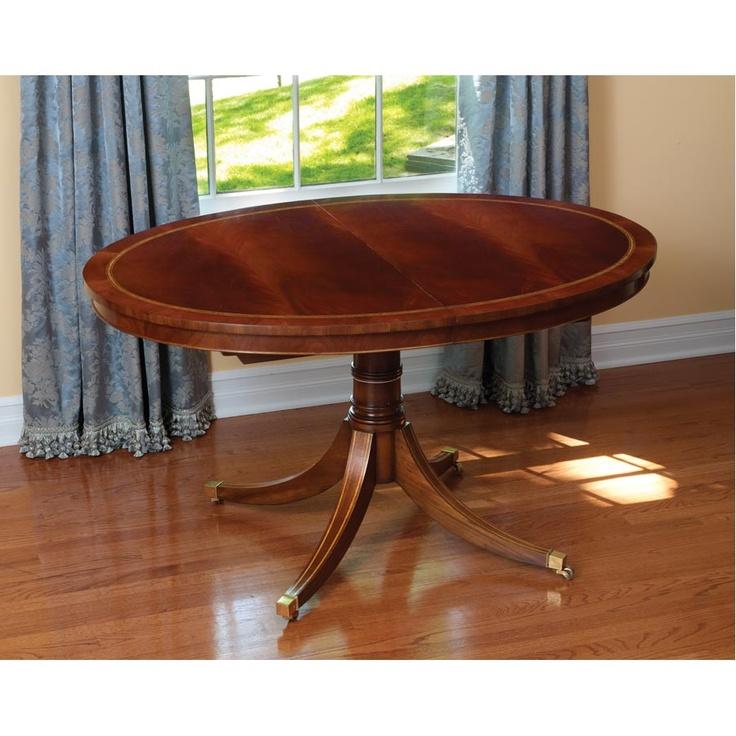 Mahogany Oval Dining Table w Leaf : 7fc06bad8edb49655e4f66f9e09b0b3b from www.pinterest.com size 736 x 736 jpeg 151kB