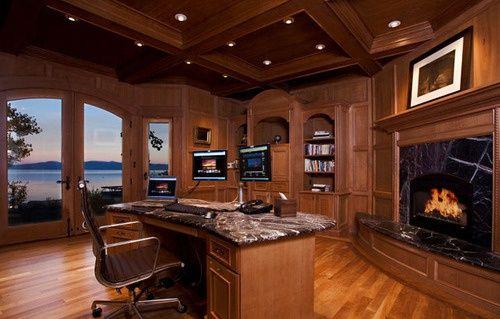 Luxury Home Office My Ultimate Dream Home Pinterest