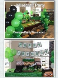 Minecraft Theme Party by Custom Party Time - Round Rock, TX