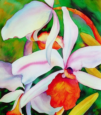 Image result for Georgia O'Keeffe orchids
