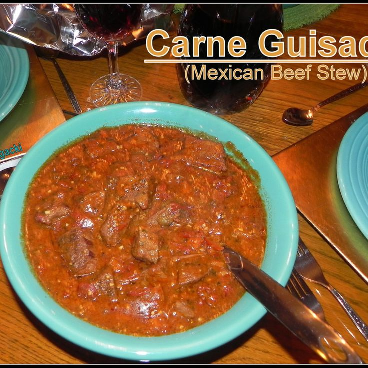 Carne Guisada (Latin Beef Stew) Recipe — Dishmaps