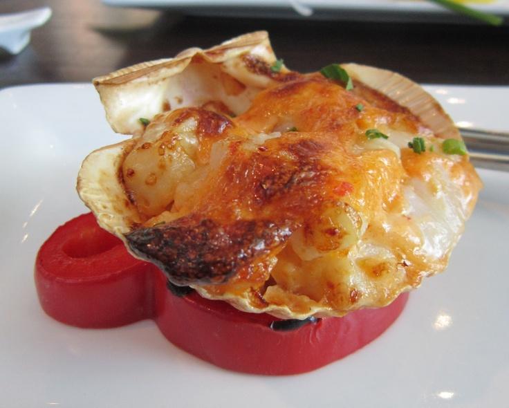 seafood appetizer (scallops/shrimp/crab or lobster) garlic ...