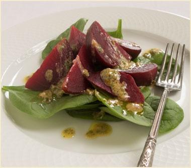 Beet Horseradish Vinaigrette | SALADS....the garden's mixed productio ...