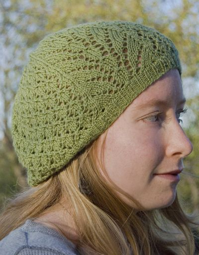 Spring Beret Knitting Pattern : lace knit beret Knit and Crochet Pinterest