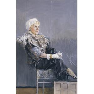Portrait of Mrs. Emery Reves, Graham Sutherland, 1978, Dallas Museum of Art
