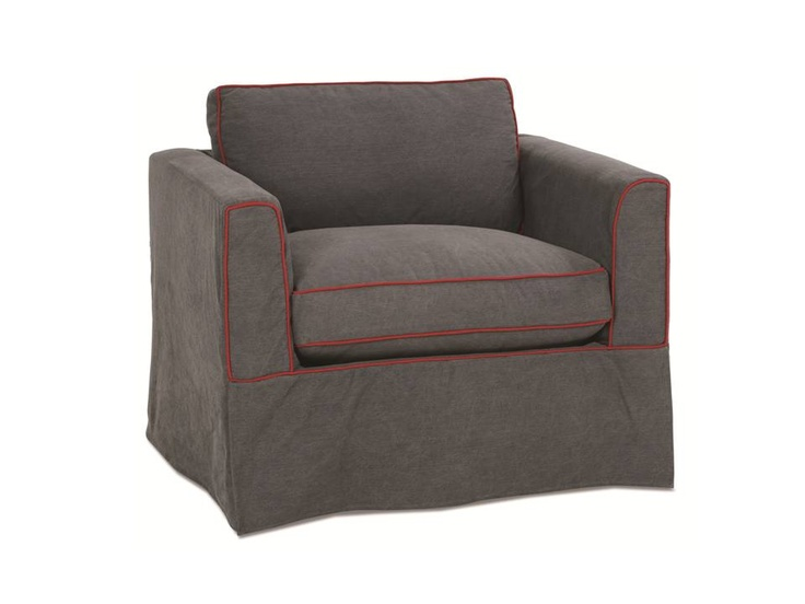 The Carly Slipcover Accent Chair
