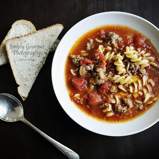 Hearty Italian Soup...I used bear meat for this recipe because my ...
