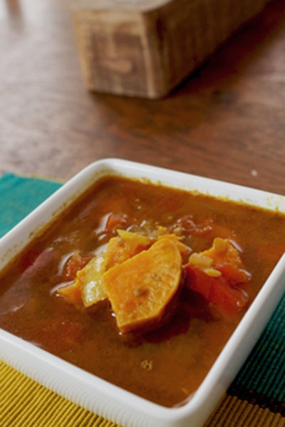 sweet potato lentil stew | Sweet potatoes | Pinterest