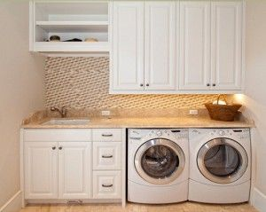 Laundry Sink With Cover : laundry-room... cover the sink