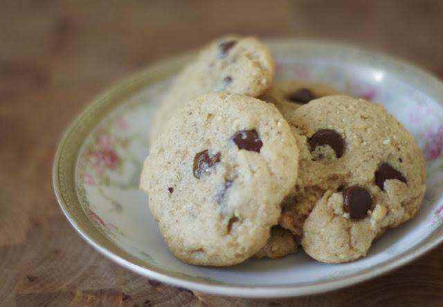 Hazelnut-Butter Chocolate Chip Cookies!!!