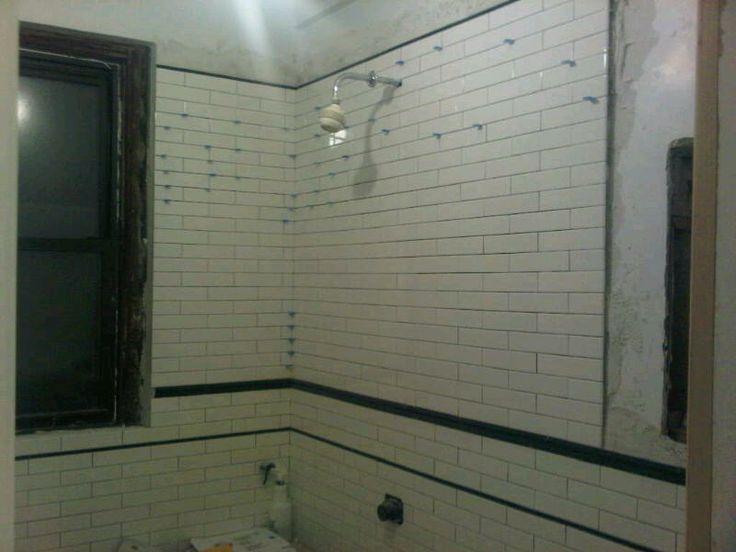 bathroom tile 1920s nyc apt renovation