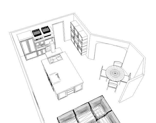 Kitchen Use Wares Pencil Sketches : couch in the kitchen  For the Home  Pinterest