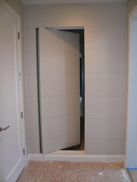 Flat Panel Door Secret Room Home Walls Floors Amp In