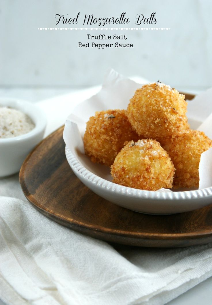 ... Suburban Gourmet: Friday Night Bites | Fried Mozzarella Balls