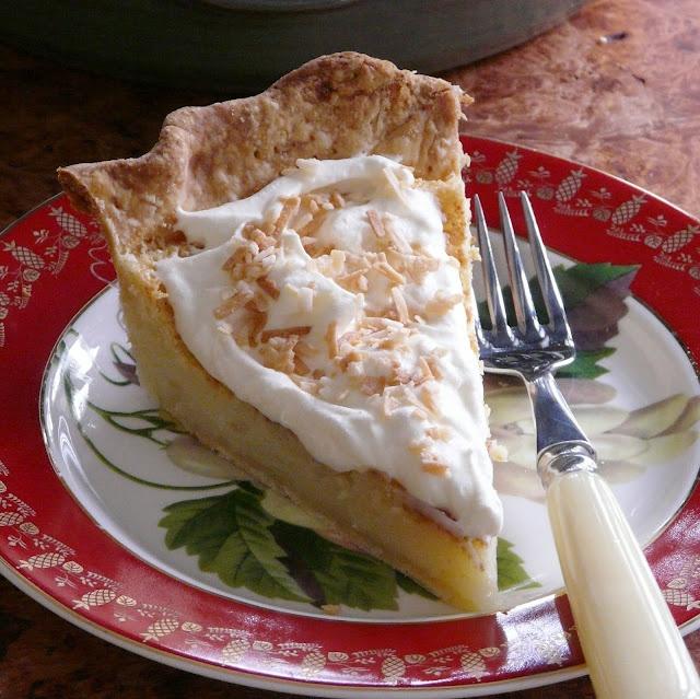 Mae Dawson's Hoosier Sugar Cream Pie -Paula Deen