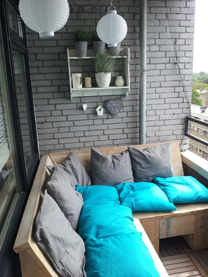 balkon lounge balkon pinterest. Black Bedroom Furniture Sets. Home Design Ideas