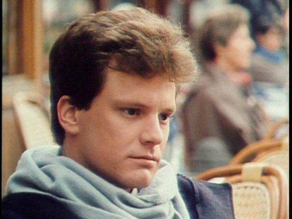 Colin firth young