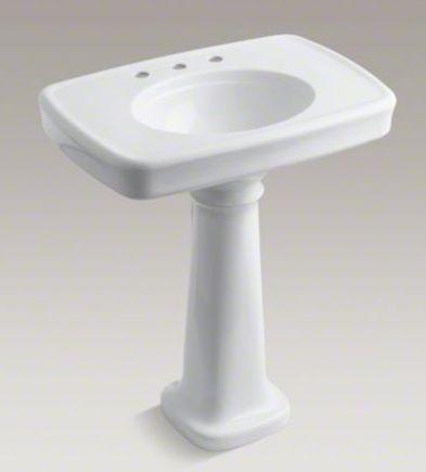 bath-pedestal-sink Kohler New Bathroom Ideas Pinterest