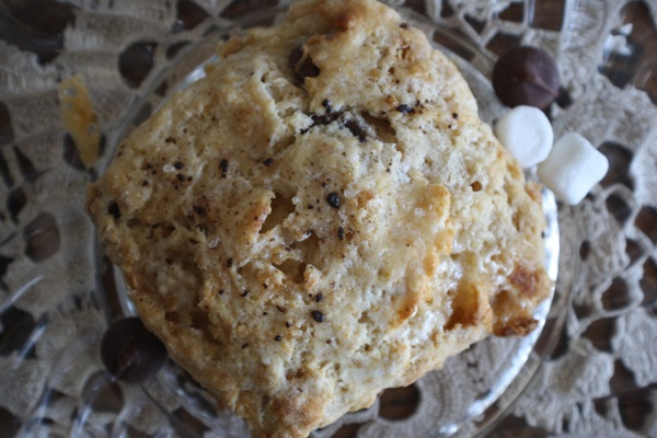 mores scones | Yummy | Pinterest