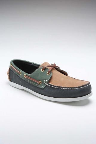 Island Surf Navy/Green Shoe.