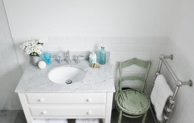 Beach Cottage Coastal Bathroom Renovation Vanity